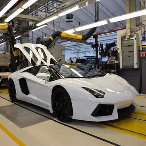 Lamborghini's factory
