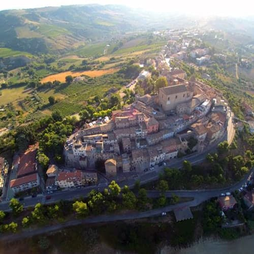 Montepandrone drone view