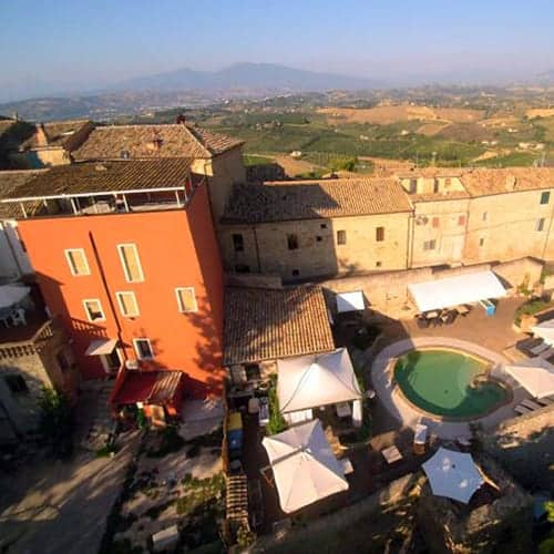 Montepandrone villa