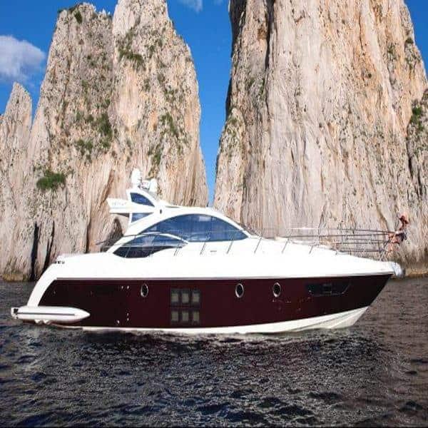 Yacht on Capri
